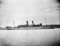 British Armed Merchant Cruiser HMS Otranto.