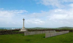 Military Cemetery, Kilchoman, Isle of Islay, Scotland.