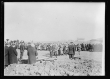Funeral for Victims of the Otranto, 11 Oct 1918,Kilchoman, Isle