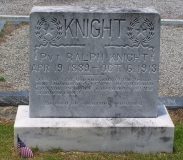 Pvt. Ralph Roswell Knight headstone,Beaver Dam Cemetery,Ray City
