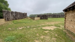 Stockade Fort, Ninety Six, South Carolina.