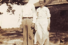Edger Chapman and Annie Veazey Chapman.