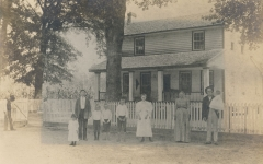 Henry Harrison Knight family, abt. 1896, Ray's Mill, Berrien Cou