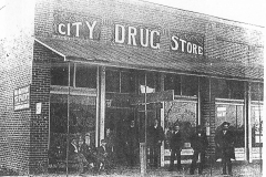 City Drug Store, 1909, Nashville, Berrien County, Georgia.