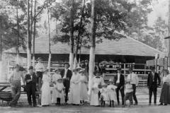 The roller skating rink at Mayhaw Lake, 1914.