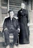 George Washington Bragg and Sarepta Jane Christian Bragg, bef. 1