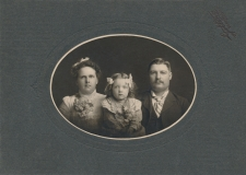 Left to right: Edith Jane Hines, Illa Mae Adams, Francis Edmund