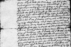 Rebecca Eames petition for pardon, from Salem prison, 5 Dec 1692.