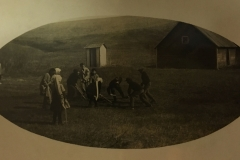 Watne School, Sverdrup Township, 1910.