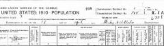 Stanley G. Wetherbee, 1910 United States Federal Census enumerat