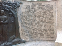 Founder's Monument, Watertown, Massachusetts; William Shattuck